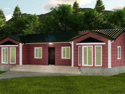 Arşela 98 m² Tek Katlı Prefabrik Ev