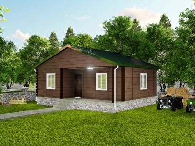 60 m² Tek Katlı Prefabrik Ev