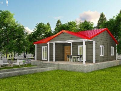 85 m² Tek Katlı Prefabrik Ev