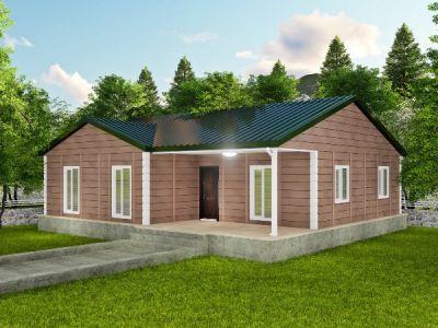 Foşa 118 m² Tek Katlı Prefabrik Ev